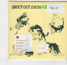 (FQ373) Shout Out Louds, Very Loud - 2005 DJ CD