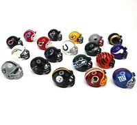 NFL Plastic Football Helmets Gumball Machine Mini Collectible Sport Toy 19 count