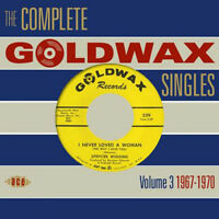 "THE COMPLETE GOLDWAX SINGLES VOLUME 3  ""1967 - 1970""  2 CD's  56 TRACKS"
