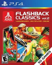 Atari Flashback Classics: Volume 2 [PlayStation 4 PS4, Remastered Arcade] NEW