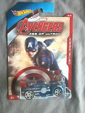 AVENGERS HOT WHEELS POWER RAGE CAPTAIN AMERICA - VOITURE - MARVEL