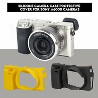 Stylish Soft Silicone Camera Case Protetive Cover Bag for Sony A6000 Camera