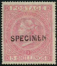 GREAT BRITAIN - 1867 5/- 'ROSE' SPECIMEN MNG SG126 Cv £1000+ [A9671]