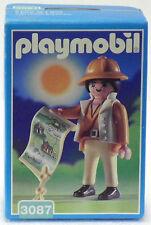 Safari forscherin CON CAPPELLO PANAMA Playmobil 3087 V. `98 PER AFRICA