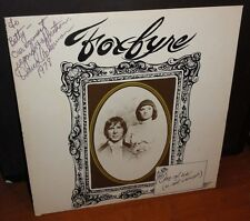 Foxfyre One of us is Not Enough 1976 Signed Record LP autographed David Ackerman