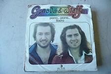 """GENOVA&STEFFAN""""PIANO PIANO-disco 45 giri RICORDI 1975 PROGRESSIVO Italy"""""""