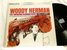 WOODY HERMAN Live Harrah's Dusko Goykovich Bill Chase Phillips LP STEREO dg