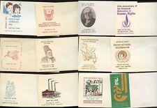PAKISTAN 1960-70s 17 ILLUSTRATED ENVELOPES for FDCs PRINTED PAKISTAN PO Lot 4