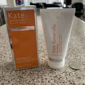Kate Somerville ExfoliKate Intensive Exfoliating Treatment 2oz  NEW BOX FULL Sz.