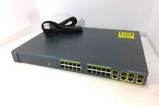 Cisco 2960 Series 24 Port Gigabit Switch WS-C2960G-24TC-L?
