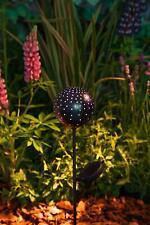 Noma Starry Nights Solar Powered Garden Stake Light Silhouette