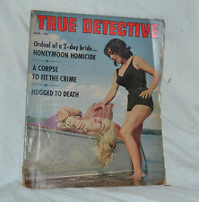 True Detective November 1963 Horror Corpse Bondage Cover VG RARE!