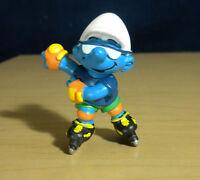 Smurfs 20442 Inline Skater Smurf Rollerblading Vintage Figure PVC Schleich Peyo