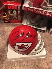 Trent Green Signed Kansas City Chiefs Mini Helmet Mounted Memories