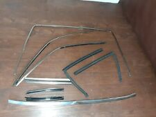 90-02 Mercedes R129 SL500 300SL 500SL Back Window Roof Hard Top Set OEM Moulding