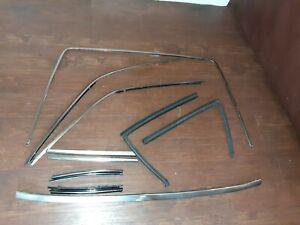 90-02 Mercedes R129 SL500 300SL 500SL Back Window Roof Hard Top Set OEM Moulding