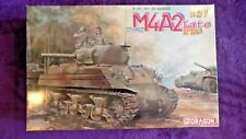 Dragon 6462 1:35 M4A2 Sherman USMC Medium Tank Late PTO Model Kit  *SEALED BAGS*