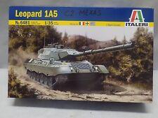 Italeri 1/35 Leopard 1A5 German Tank Model Kit 6481 With C2 Mexas Conversion Kit