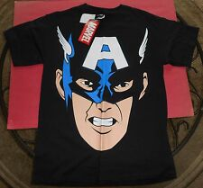 Captain America T-Shirt - Medium - New