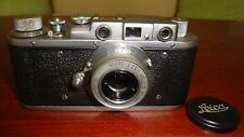 Russian Leica Copy D.R.P. ERNST LEITZ WETZLAR WW2 Vintage 35MM Camera SN247961