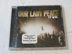 Live from Calgary and Edmonton by Our Lady Peace CD Jul-2003 Columbia Innocent
