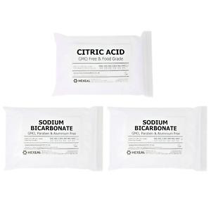 BATH BOMB KIT   3KG   1KG Citric Acid + 2KG Sodium Bicarbonate   BP/Food Grade