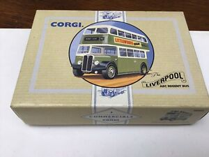 corgi 96983 Liverpool AEC Regent Bus  46 Penny Lane LT/E Box Faded on one end