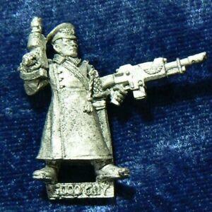 Last Chancers Hero Imperial Guard Commissar Penal Legion Metal OOP