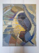 Huile sur toile Abstraite Vers 1960 Paul RIGOULET Format 6F (41 X 33 cm)