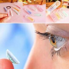 3Pcs Eyes Protector Contacts Tweezers Insert Remover Contact Lenses Silicone Kit