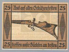 Notgeld - Suhl - Stadt Suhl - 25 Pfennig - 1922 - Pistolen und Gewehre - Bild 2