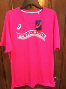 NWT Unisex Asics Tokyo Marathon 2019 Charity Short Sleeved Shirt