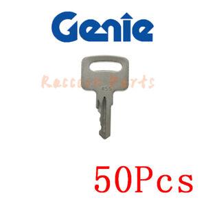 50pcs 455 Key Various Genie Vermeer Terex Snorkel Skyjack kubota Whisper Ronis