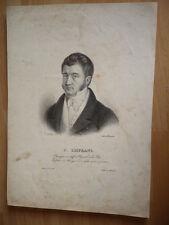 J.  LISFRANC CHIRURGIEN HOPITAL LA PITIE GRAVURE 1880