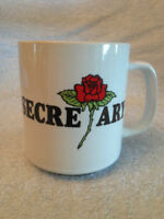 You're The Best Secretary  Vintage Coffee Cup Mug by Wallace Berrie Co Ceramic