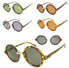 Steampunk Round Lens Vintage Sunglasses Men Ladies
