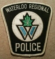 Ca Waterloo Regional Canada Police Patch