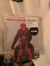 War for the planet of  the apes  ultra hd, Steelbook  HMV  Limited edition set