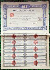 Paris IX ème 23 Rue Joubert - Beau Décor Ste Import de Produits Coloniaux - 1920