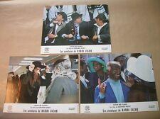 """LOT 3 PHOTOS DU FILM """"LES AVENTURES DE RABBI JACOB"""" / DE FUNES / 7 / TRES B ETAT"""
