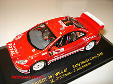 IXO RAM170 PEUGEOT 307 WRC N°7 RALLYE DE MONTE CARLO 2005 au 1/43°