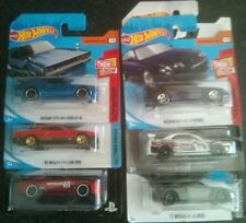 Hot Wheels Nissan Skyline Collection (6 cars) GT-R, R30, R32, R33, R34 and R35