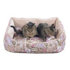Armarkat Rectangle  Rose & Light Apricot Pet Bed, 28-Inch by 22-Inch D05HYH/FS-M