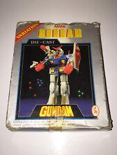 GUNDAM MINI Die Cast VARIATION   CLOVER CEPPIRATTI '70   Boxed Vintage Robot