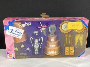 Barbie Doll Pretty Treasures Wedding Set Accessories by Mattel 1996