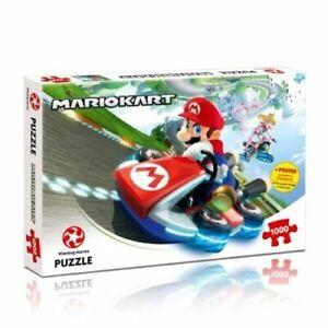 super mario mario-kart 1000 piece puzzle brand new