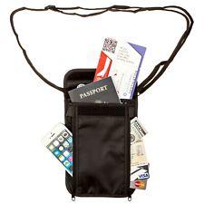 Tournity Travel Neck Wallet and Passport Holder w/RIFD blocking