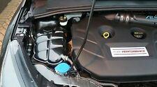 FORD Focus mk3, VANO MOTORE SET EFFETTO CARBONIO, liquido di raffreddamento, batteria e coperchio fusibile