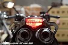 2003-2009 YAMAHA FZ-6 SEQUENTIAL INTEGRATED SIGNAL LED Tail Light FZ6 SMOKED
