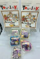 Tom And Jerry Mcdonalds Happy Meal Toys Complete Set Of 5 SEALED 1989